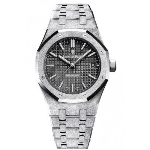 Fake Audemars Piguet Royal Oak Frosted Gold White gold 15454BC.GG.1259BC.03