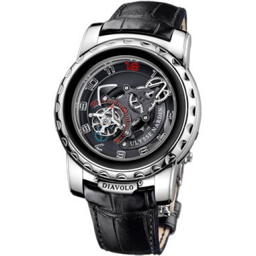 Fake Ulysse Nardin Freak Diavolo White Gold 2080-115