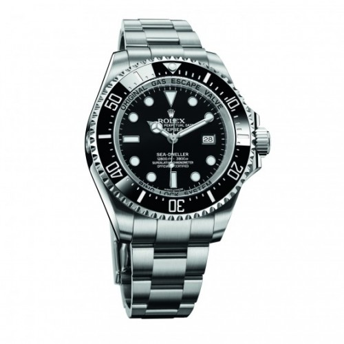 Rolex Sea-Dweller DeepSea Black Dial Mens Watch Replica