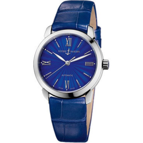 Fake Ulysse Nardin Classico Blue Dial Ladies Watch 8103-116-2/E3