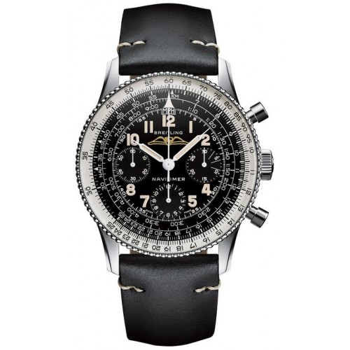 Fake Breitling Navitimer Ref. 806 1959 Re-Edition Steel Black Watch AB0910371B1X1