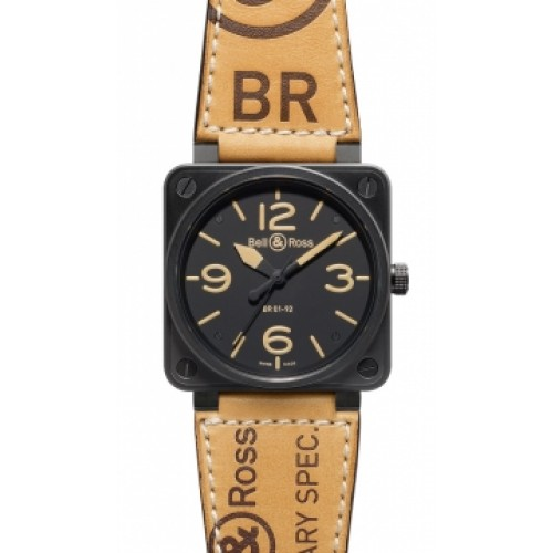Replica Bell & Ross BR01-92 Automatic 46mm BR01-92 Heritage Mens Watch