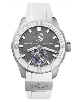 Ulysse Nardin Diver Chronometer Great White Shark Automatic Watch Replica