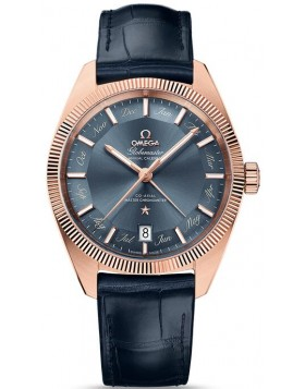 Fake Omega Globemaster Co-Axial Master Chronometer Annual Calendar 41 mm 130.53.41.22.03.001