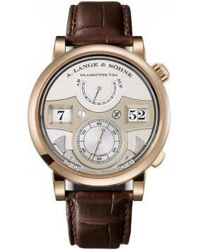 Replica A.Lange & Sohne Zeitwerk Decimal Strike Honey Gold / Silver