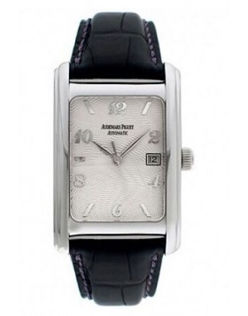 Audemars Piguet Edward Piguet 18kt White Gold Black Mens Watch Fake