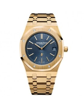 Replica Audemars Piguet Royal Oak Extra-Thin Blue Dial Watch