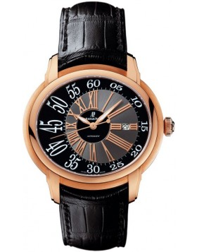 Audemars Piguet Millenary Black Dial Rose Gold Mens Watch Fake