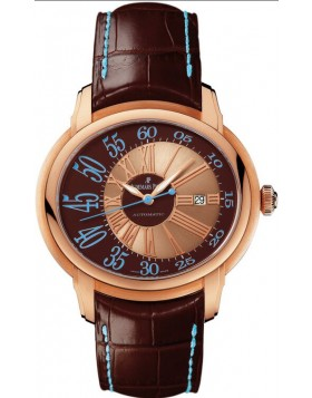 Audemars Piguet Millenary Brown Dial Automatic Mens Watch Fake
