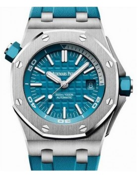 Fake Audemars Piguet Royal Oak Offshore Diver Blue Dial 15710ST.OO.A032CA.01