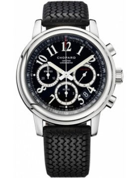 Chopard Mille Miglia Automatic Chronograph Black Dial Mens Watch Replica