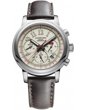 Chopard Mille Miglia Automatic Chronograph White Dial Mens Watch Replica
