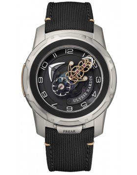 Ulysse Nardin Freak Out Black Dial Titanium Mens Watch Replica