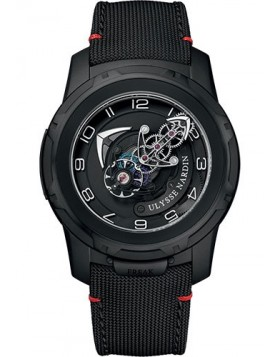 Ulysse Nardin Freak Out Black Dial Mens Watch Replica