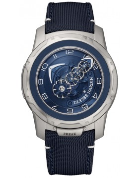 Ulysse Nardin Freak Out Blue Dial Mens Watch Replica