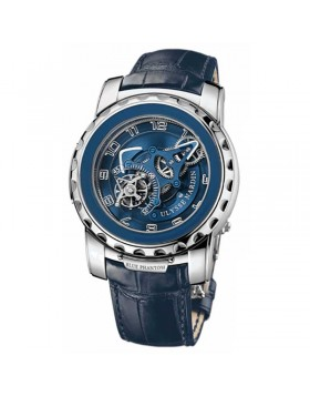 Fake Ulysse Nardin Freak Freak Phantom White Gold Blue Mens Watch 2080-115/03