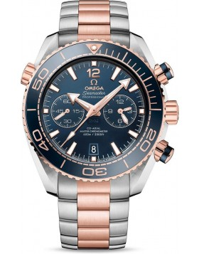 Popular Replica Omega Seamaster Planet Ocean Chronograph Sedna Gold Automatic Mens Watch 215.20.46.51.03.001