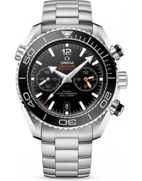 Popular Replica Omega Seamaster Planet Ocean 600M Chronograph 45.5mm Black Dial Watch 215.30.46.51.01.001