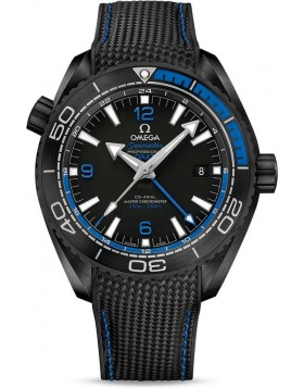 Popular Replica Omega Seamaster Planet Ocean 600M GMT 45.5mm Deep Black Blue 215.92.46.22.01.002