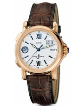 Fake Ulysse Nardin GMT Big Date 40mm Mens Watch 226-87
