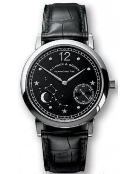Replica A.Lange & Sohne 1815 Manual Wind Black Dial 35mm Mens Watch
