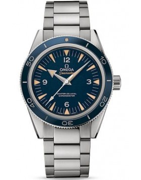 Popular Replica Omega Seamaster 300 Master Co-Axial 41mm Blue Dial Mens Watch 233.90.41.21.03.001
