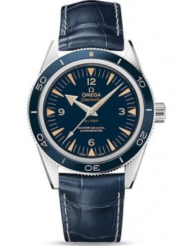 Popular Replica Omega Seamaster 300 Master Co-axial 41mm Platinum watch 233.93.41.21.03.001