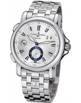 Fake Ulysse Nardin Dual Time 42mm Mens Watch 243-55-7/91