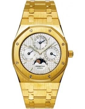Fake Audemars Piguet Royal Oak Perpetual Calendar Yellow Gold Watch 25820BA.OO.0944BA.02