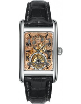 Audemars Piguet Edward Piguet Tourbillon Skeleton Platinum Mens Watch Fake