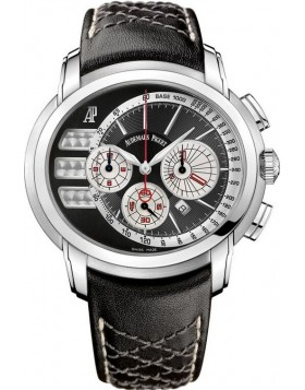 Audemars Piguet Millenary Black Dial Chronograph Mens Watch Fake