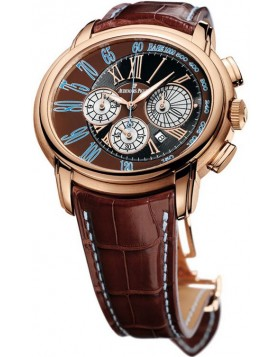 Audemars Piguet Millenary Brown Dial Chronograph Mens Watch Fake