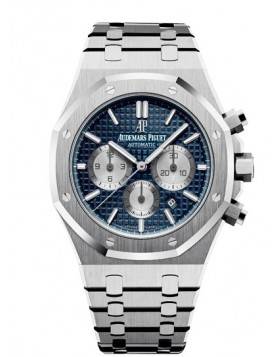 Replica Audemars Piguet Royal Oak Chronograph Black Dial Mens Watch