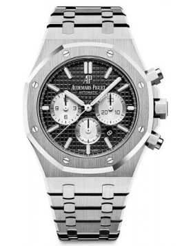 Replica Audemars Piguet Royal Oak Chronograph 41mm Black Dial Mens Watch