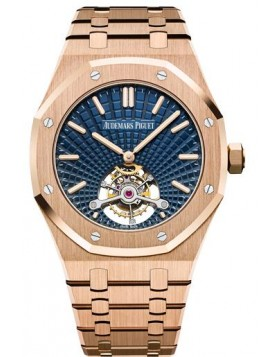 Fake Audemars Piguet Royal Oak Ultra Thin Tourbillon Pink Gold 26522OR.OO.1220OR.01