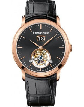 Audemars Piguet Jules Audemars Tourbillon Grande Date 41mm Watch Fake