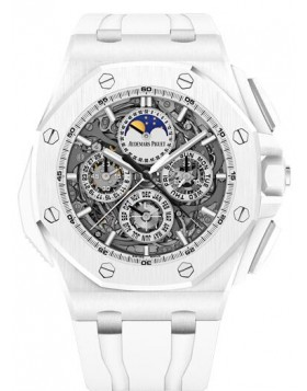 Fake Audemars Piguet Royal Oak Offshore Grande Complication White ceramic 26582CB.OO.A010CA.01
