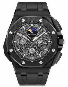 Fake Audemars Piguet Royal Oak Offshore Grande Complication Black Ceramic 26582CE.OO.A002CA.01