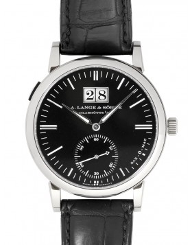 Replica A.Lange & Sohne Langematik Grey Dial 40mm Mens Watch