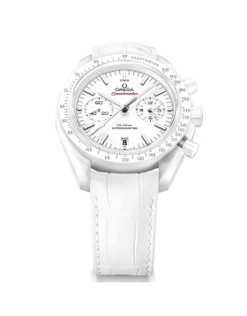 Replica Omega Speedmaster Moonwatch White Side of the Moon Mens Watch