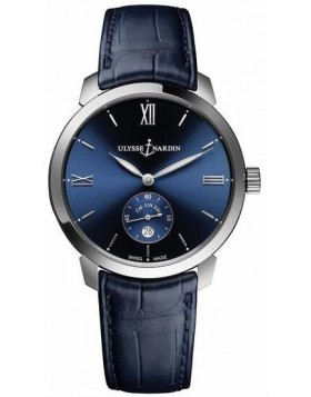 Ulysse Nardin Classico Automatic Blue Dial Mens Watch Fake