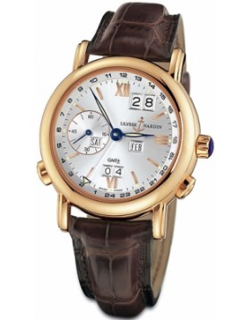 Fake Ulysse Nardin GMT Perpetual Mens 40mm Watch 326-82/31