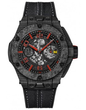 Fake Hublot Big Bang Scuderia Ferrari 90th Anniversary 3D Carbon Watch 402.QD.0123.NR