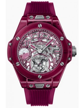 Fake Hublot Big Bang Tourbillon Power Reserve 5 days Red Sapphire Watch 405.JR.0120.RT