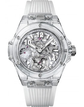 Hublot Big Bang Sapphire Tourbillon 45mm Watch Replica