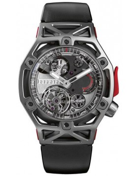 Fake Hublot Techframe Ferrari Tourbillon Chronograph Titanium 45mm 408.NI.0123.RX