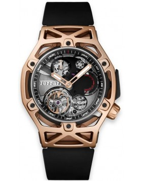 Fake Hublot Techframe Ferrari Tourbillon Chronograph King Gold 45mm 408.OI.0123.RX