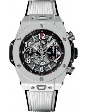 Replica Hublot Big Bang Unico White Ceramic 45mm Mens Watch