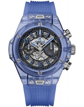 Replica Hublot Big Bang Unico Blue Sapphire 45mm Mens Watch