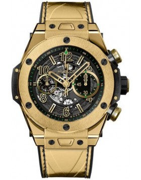 Replica Hublot Big Bang Unico Usain Bolt Yellow Gold 411.VS.1189.VR.USB16